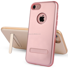 Shenzhen mobile phone case supplier for iphone 7/ 7p case with kickstand