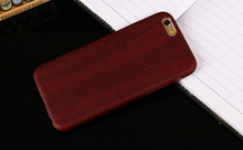 Light and handy pu wooden phone case with high quality cover case for iphone for samsung