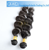 kabeilu hairs high quality peruvian hair weaving Hot heads extensions