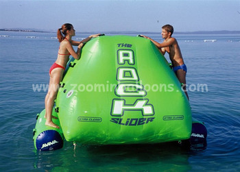 Good price and quality inflatable Floating Rock Climbing Wall Z7057