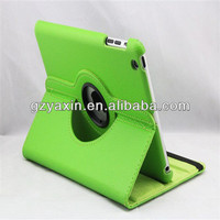 Simple leather cover for ipad air rotation case / classical rotation cover for ipad air pu case / for ipad air kickstand case