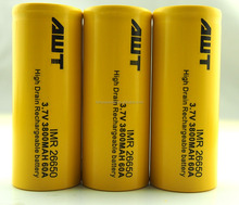 China supplier AWT 26650 3800mah 3.7v 60A turnigy lipo battery rechargeable batteries 3.7v for chemical vapor deposition