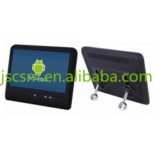 10'' inch IPS touch screen car advertising player wall mount wifi android taxi video player