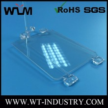 High Transparent PC Plastic Panel Injection Moulding Parts Plastic Enclosure Mold Custom Design