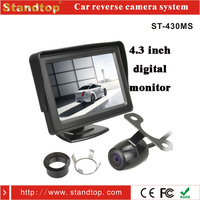 Car dvd player with reversing monitor camera system