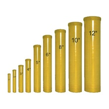 "Firework Display Shell Best 6"" Inch Cylindrical Rack High Strength Fiberglass Mortar Tube"