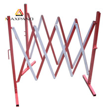 MAXPAND OEM Foldable Scissor Iron Fence Panels Sliding Road Safety Barrier