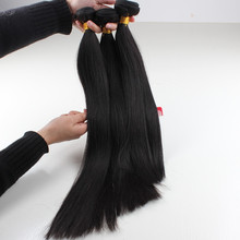 Top quality real remy straight brazilian hair 3 bundles full head