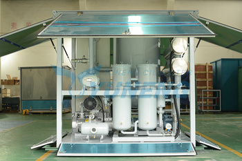 High-volage Double Stage Transformer Oil Purifier Machine