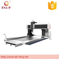 Defeng Machine DF series travelling column cnc milling baseball bat cnc wood turning lathe