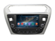 dashboard 7inch Android 4.4 car navigator for Peugeot 301 car stereo