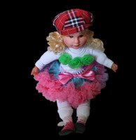 "Cute New Doll Clothes fits 18"" American baby Girl Fashionable Doll pettiskirt play set"