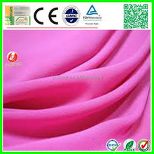 kinds of 90% acrylic 10% polyester fabric for cloth t-shirt