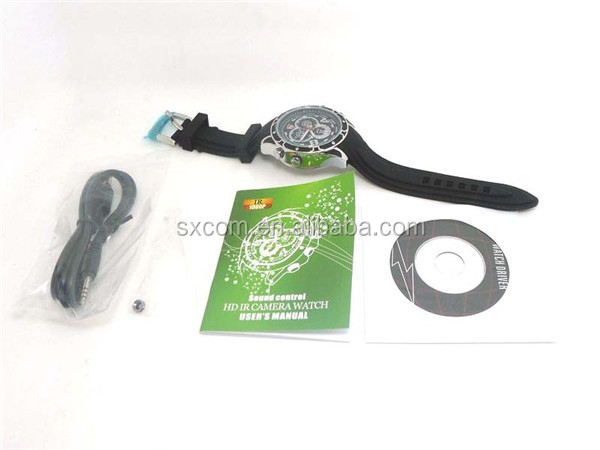 Full HD watch model hidden video camera 1920x1080 pixel