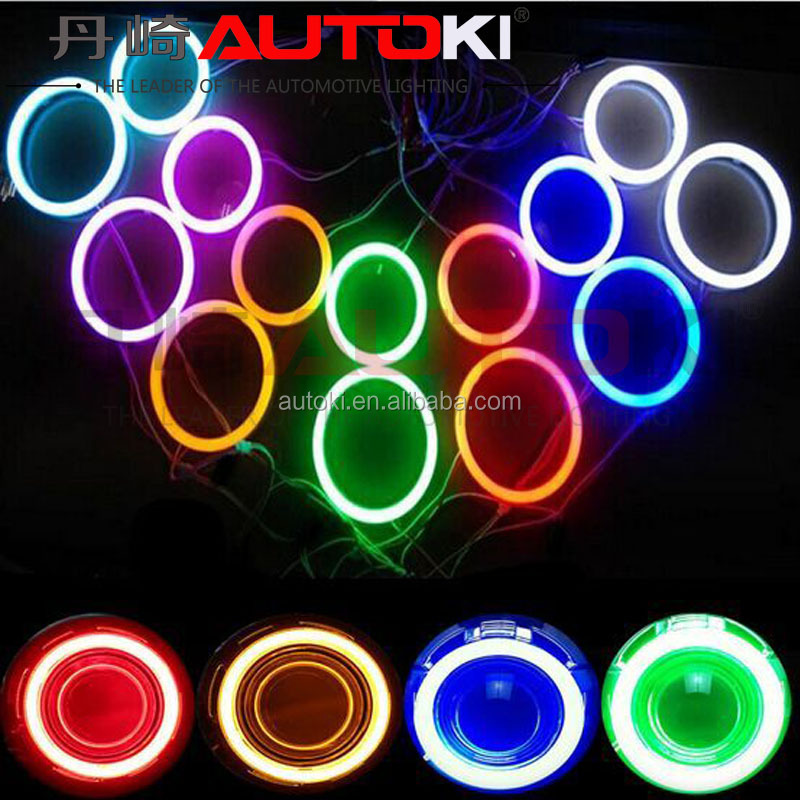 Autoki Super Bright 90MM 110MM 115MM 125MM 140MM 160MM COB led halo ring for CCFL Angel Eyes Replacement