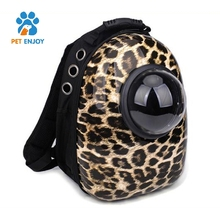 Hot selling pet bag carrier for Cats and Small Dogs by YuFeng Ventilated Design, Safety Strap, Buckle Support