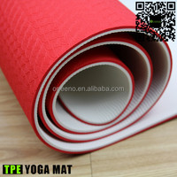 Eco easy clean yoga & pilate type cool style yoga mat