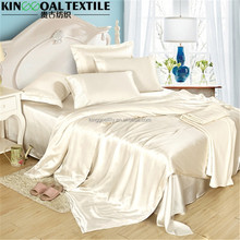 Wholesale Super king size 100% Pure Silk flat sheets
