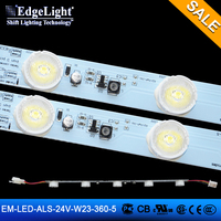 Edgelight aluminum led profile led wall lamp outdoor strip christmas light strip back light flat aluminium led strip