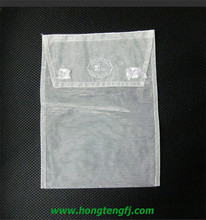 envelope organza bag velcro seal of for gift package