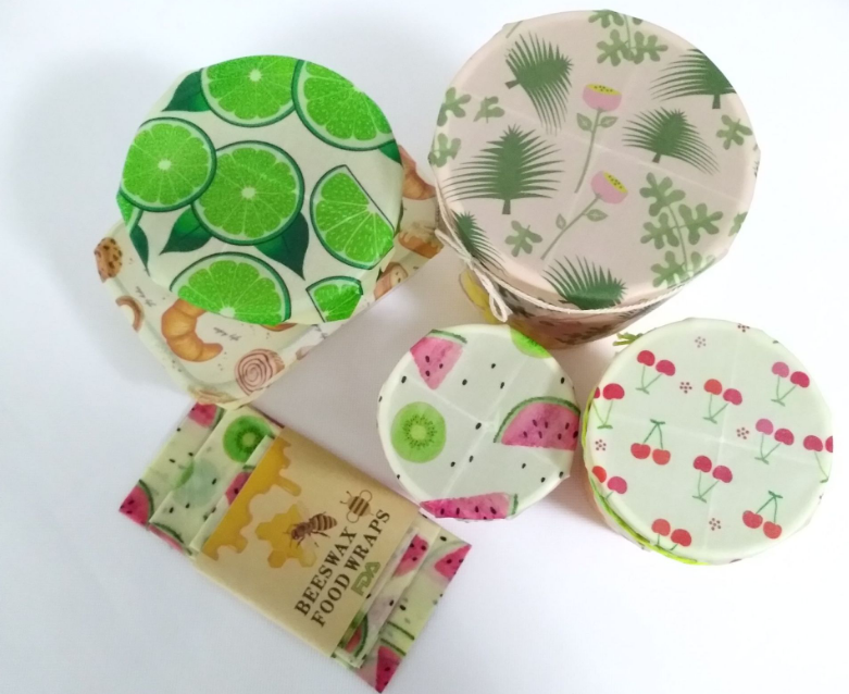 Eco-Friendly food storage Wrapping Paper Beeswax Reusable Wrap