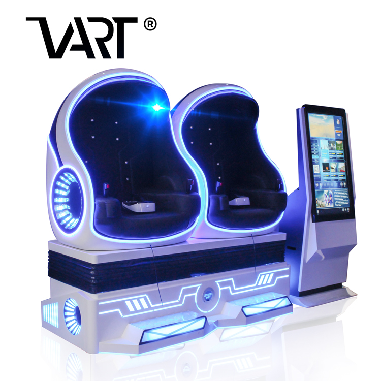 VR Simulator business 9d vr 2017 high tecnology 9d egg vr cinema with cool appearance