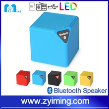 Zyiming Portable Led Magic Square Cube Wireless Customized Mini Blue Tooth Bluetooth Speaker