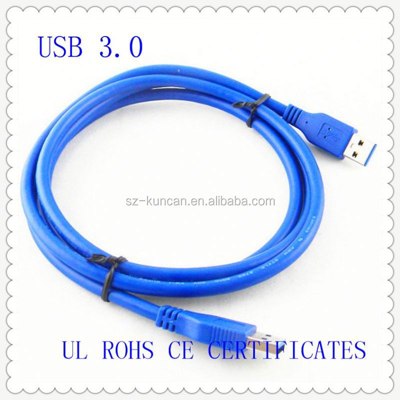 data usb 3.0 cable for smartphone USB 3.0 Cable 1ft 2ft 3ft