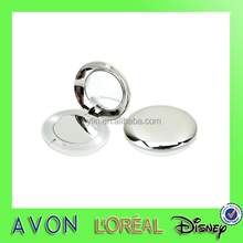 fashional round pocket mirror with led light