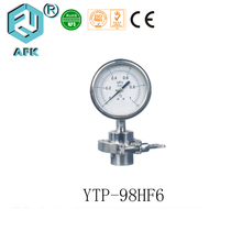 High quality all stainless steel sanitary diaphragm seal pressure gauge
