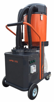VFG Dust Extracotr to Handle Dry Grinding of Natural Stone, Concrete, Floor Preparation and Wood