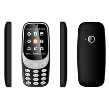 High Copy 2.4inch Small Dual Standby Size Dual Sim Cell Phone 3310