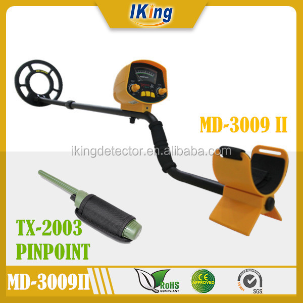 2016 Hot Selling Underground Gold Metal Detector MD-3009 II