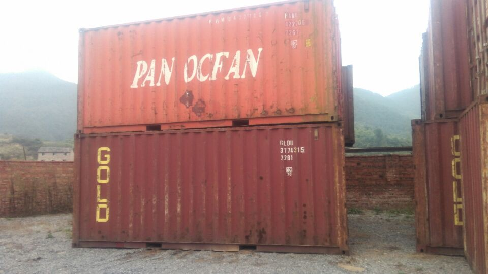 Modified used 20ft mining equipment storage containers