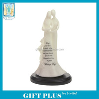 2014 Newest A Wedding Blessing Polyresin Figurine