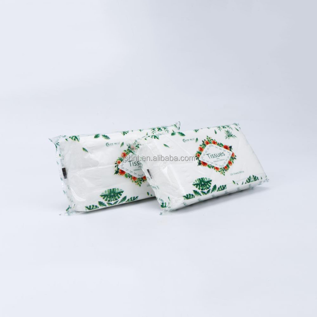 Ample Facial Tissue Paper Made of 100% Bamboo Pulp, Unbleached, No-chlorine