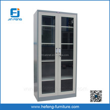 Steel Office Filing Glass Cabinet