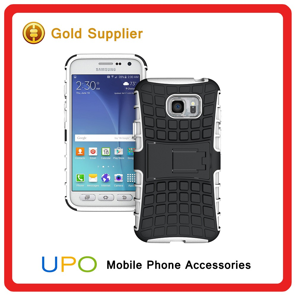 [UPO] Hybrid Heavy Duty Rugged Shockproof 3 in 1 Cell Phone Case,Mobile Accessories Armor Cover for Samsung Galaxy S7 Active