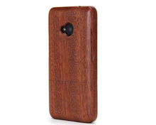 China made high quantity real wood case for HTC m8 customized wood case for htc one m8