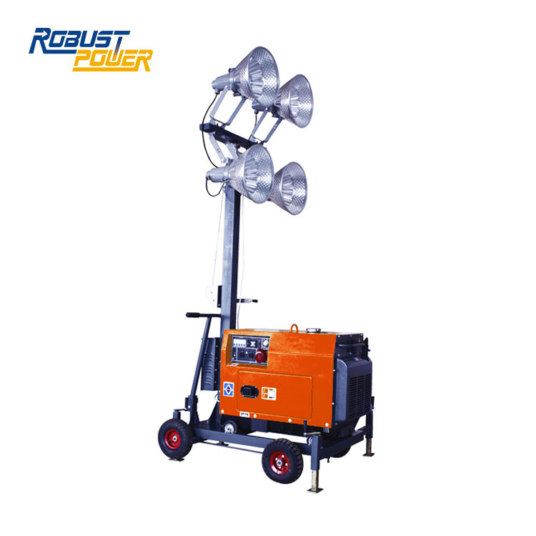 8KW Hydraulic Light Towers Generator