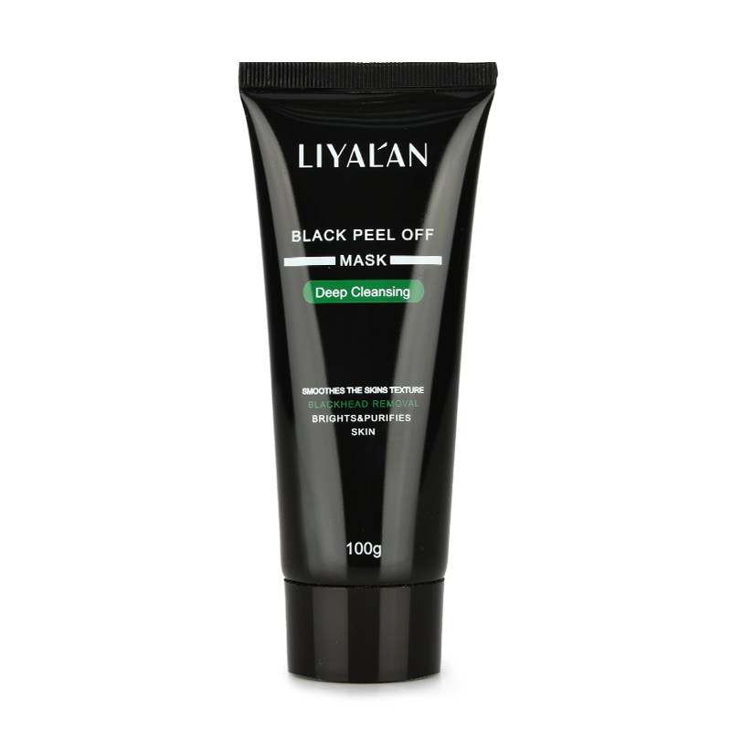 Tearing style Deep Cleansing purifying peel off the Black head,acne treatment,black mud face mask