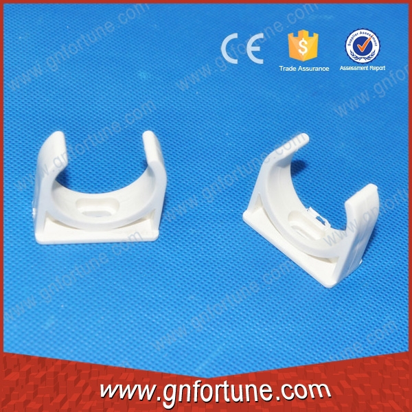 Dongguan 16mm plastic pipe clamps clips factory