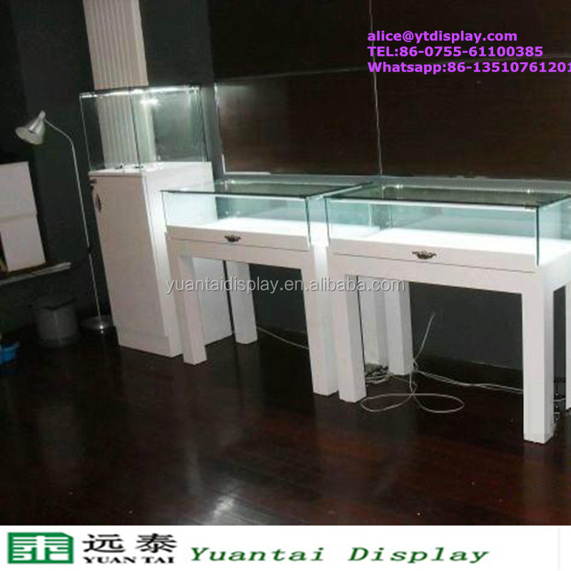 bespoke jewelry display kiosk glass display cabinet used jewelry showcase