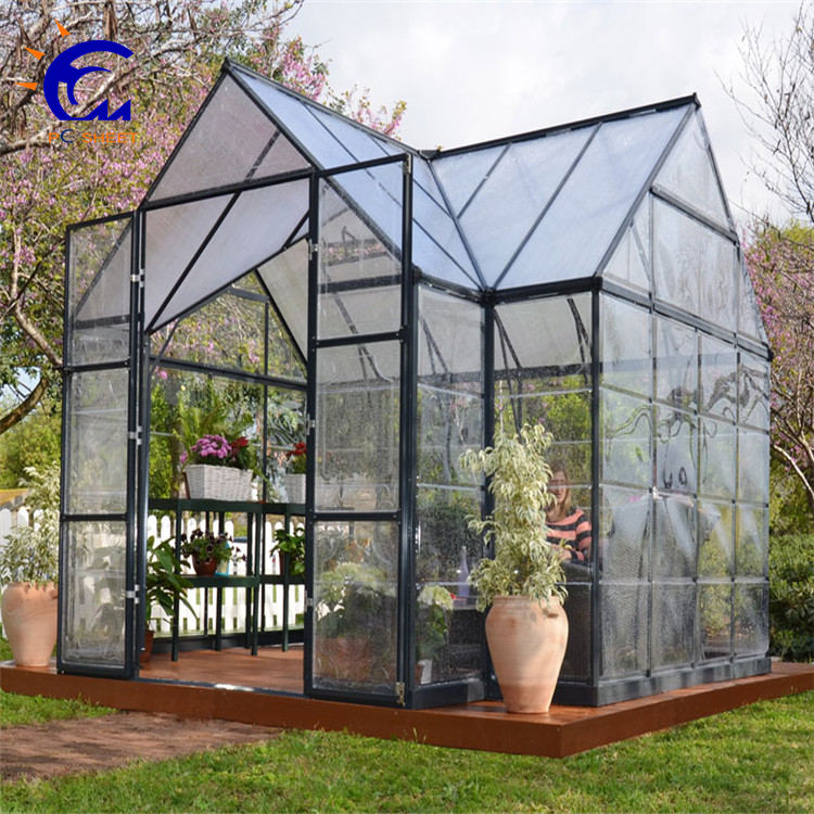 aluminum fram with polycarbonate sheet Mini Garden Greenhouse/Hobby Greenhouse