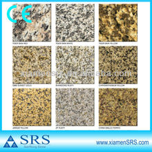 China granite different kind of stones