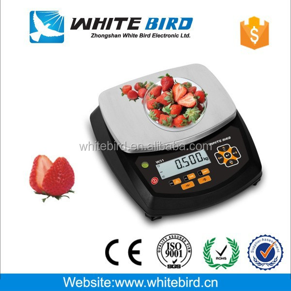 OIML Plastic electronic industrial weighing scale IP66