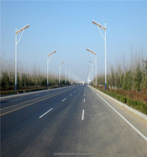 CE ROHS IEC IP65 Lumileds LED Chip All In One Integrated Solar Street Light