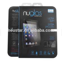 Nuglas 9H 2.5D 0.3mm thickness Laptop Tablet tempered glass screen protector for apple ipad pro 10.5