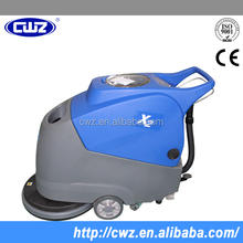battery-powered push-type floor sweeper