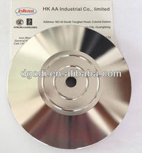 steel base with chrome plating